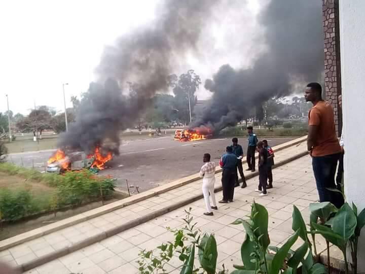 RDC-Kinshasa : Les échauffourées sur le campus de l'Université, deux jours après !