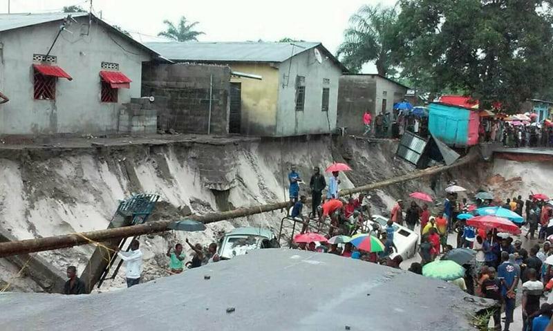 Kinshasa : Des pluies diluviennes causent des dégâts considérables à N'Djili CECOMAF