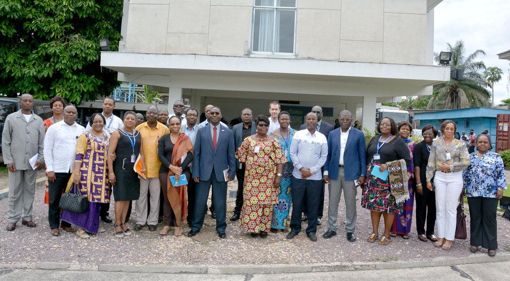 [RDC-OMS] Revue fonctionnelle à Kinshasa : le Bureau Pays à l'heure des choix stratégiques, avec une structure efficace annoncée, pour mieux faire face aux défis de l'avenir dans un environnement marqué par la réduction des ressources.