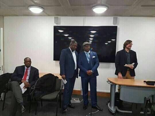 Félix Tshisekedi en dissertation devant les étudiants de la « London School of African and Oriental Studies »