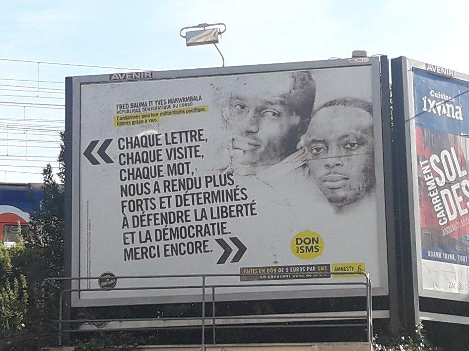 Amnesty International : « La campagne Ecrire une lettre pour les droits » célèbre ses 15 ans