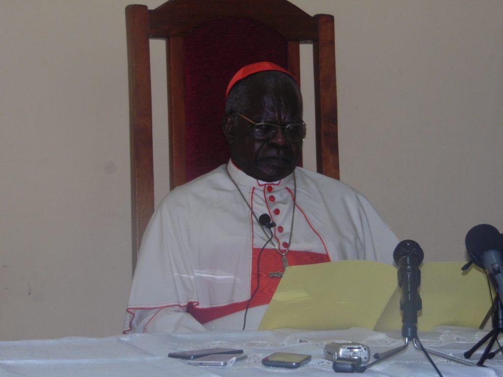 RDC : L'Eglise et les Évêques font bloc autour du cardinal Monsengwo