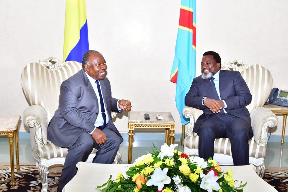 Kinshasa : Ali Bongo Ondimba du Gabon en visite de travail en RDC