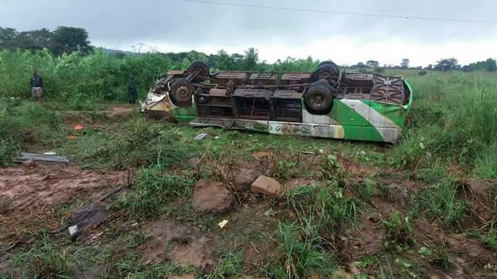 KATANGA : Grave accident de route à Fungurume