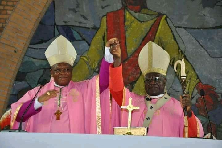 Kinshasa : Mgr Fridolin Ambongo, Archevêque Coadjuteur de Kinshasa présenté aux fidèles catholiques