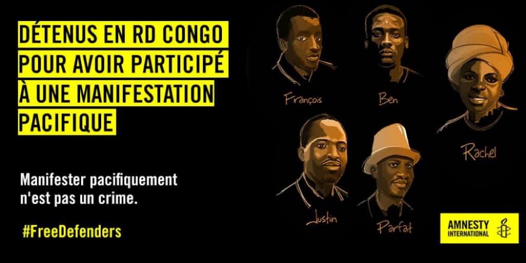 GOMA : Acquittement des militants de La LUCHA et leurs compagnons