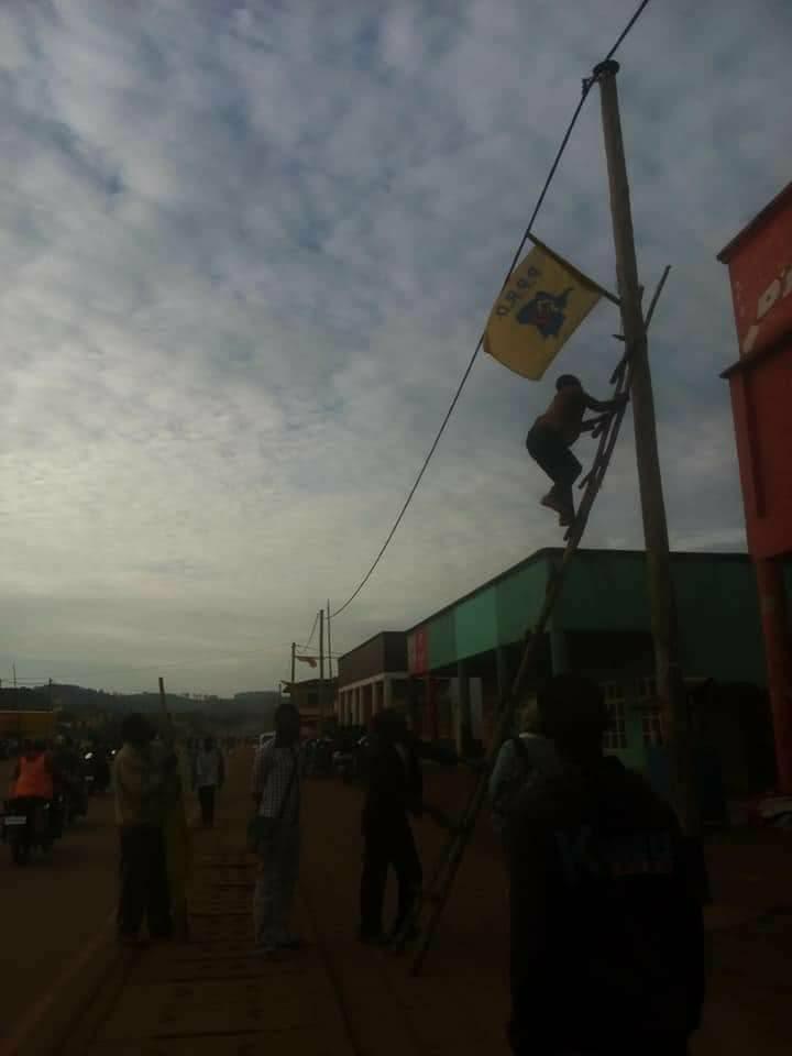 Nord-Kivu : Une révolte silencieuse dans la population décroche les drapeaux PPRD dans Beni