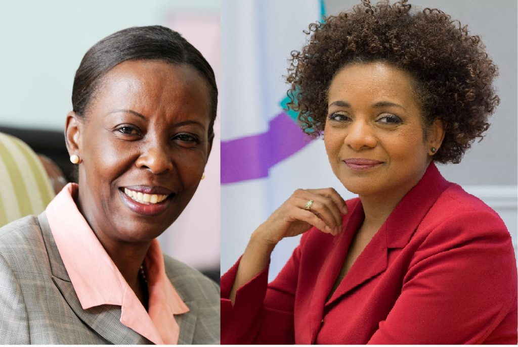Image result for Louise Mushikiwabo Michaëlle Jean