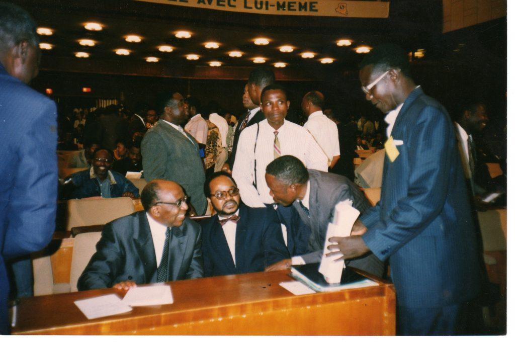 CNS 1990 au Palais du Peuple de Kinshasa avec Roger DIKU