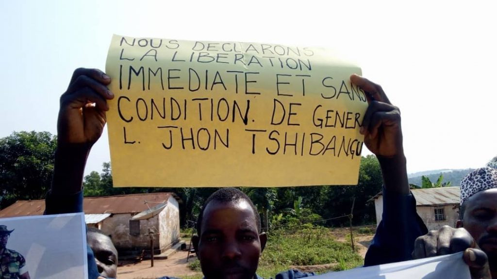RDC-JUSTICE : La population du Kasaï Central exige la libération de John Tshibangu