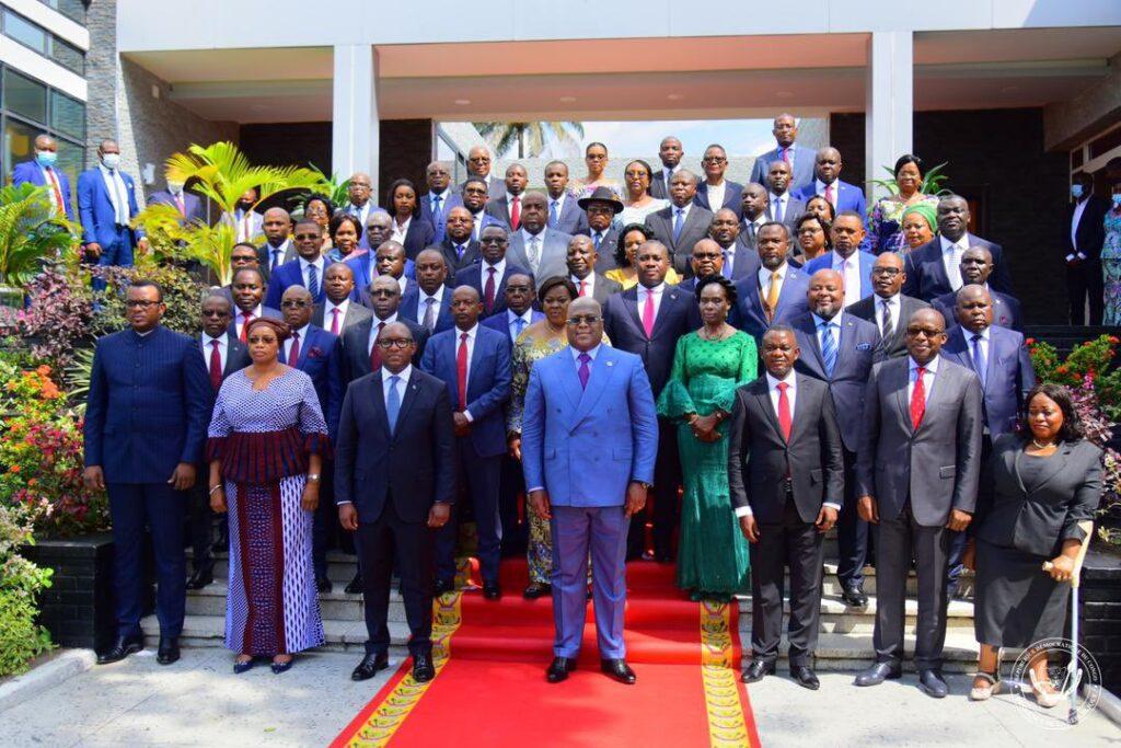 RDC : Conseil des ministres du gouvernement Sama Lukonde autour de Felix Tshisekedi