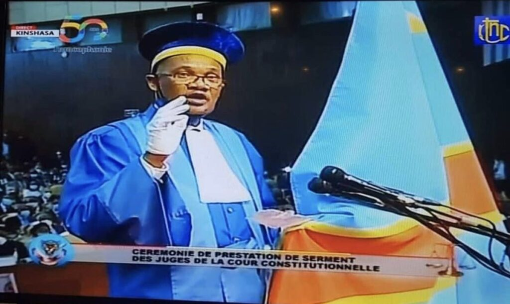 RDC-URGENT : Dieudonné Kaluba Dibwa nouveau Président de la Cour Constitutionnelle